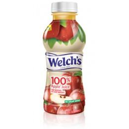 Welch's 100% Apple Juice, 16 oz Each, 12 Bottles Total