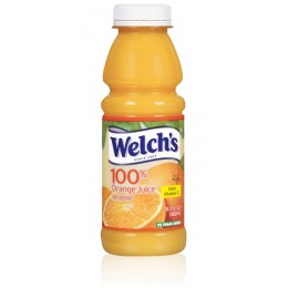 Welch's 100% Orange Juice, 16 oz Each, 12 Bottles Total