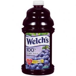 Welch's 100% Grape Juice PET 16 oz Each Bottle, 12 Bottles Total