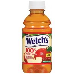 Welch's 100% Apple Juice, 10 oz Each, 24 Bottles Total