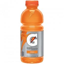 Gatorade Orange, 20 oz Each, 24 Bottles Total