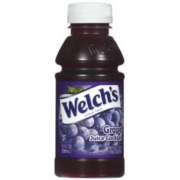 Welch's 100% Grape Juice, 10 oz Each, 24 Bottles Total