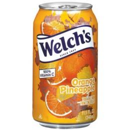 Welchs Orange Pineapple Juice, 11.5 oz Each, 24 Cans Total