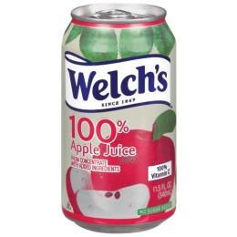 Welch's 100% Apple Juice, 11.5 oz Each, 24 Total