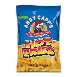 Andy Capp Hot Fries, 1.5 oz Each, 48 Bags Total