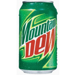 Mountain Dew, 12 oz Each, 24 Cans Total