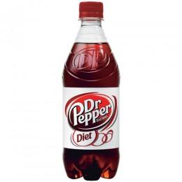 Diet Dr Pepper, 20 oz Each, 24 Total