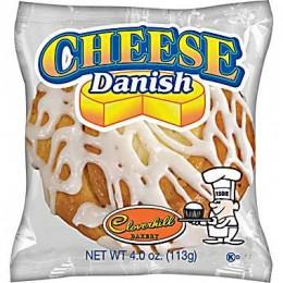 Cloverhill Round Cheese Danish 4oz Each 36 Pastries Total