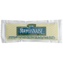 Heinz Mayonnaise Packet, 12 gm Each, 200 Packets Total