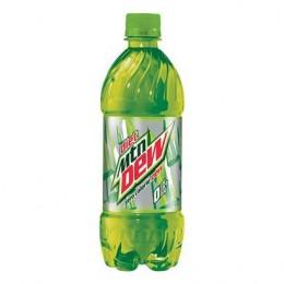 Diet Mountain Dew, 20oz Each, 24 Bottles Total