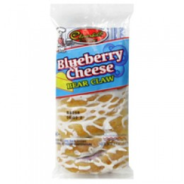 Cloverhill Blueberry Cheese Danish Claw 4.25oz Each Pastries 36 Total