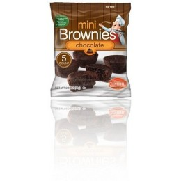 Cloverhill Mini Chocolate Brownies, 2.5 oz Each, 48 Bags Total