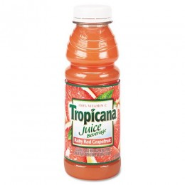 Tropicana Ruby Red Grapefruit Juice, 10 oz Each, 24 Bottles Total