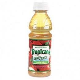 Tropicana 75717 100% Apple Juice 10oz Each 24 Total
