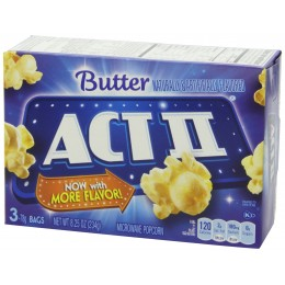 ACT II Butter Popcorn, 2.75 oz Each, 36 Bags Total