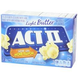 ACT II Light Butter Popcorn, 2.75 oz Each, 36 Bags Total