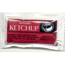 Vistar Ketchup Packet, 7 gm Each, 200 Packets Total