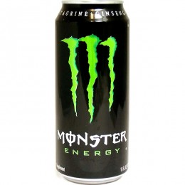 Monster Energy Drink, 16 oz Each, 24 Cans Total