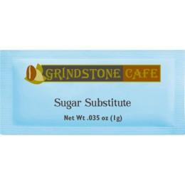 Grindstone Blue Packet Sweetener 0.035 oz Each Packet, 2000 Packets Total
