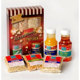 Wabash 45061 Old-Fashioned Complete Popcorn Gift Set