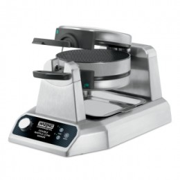 Waring Commercial WWCM200 Heavy-Duty Double Vertical Waffle Cone Maker 120V 1400W