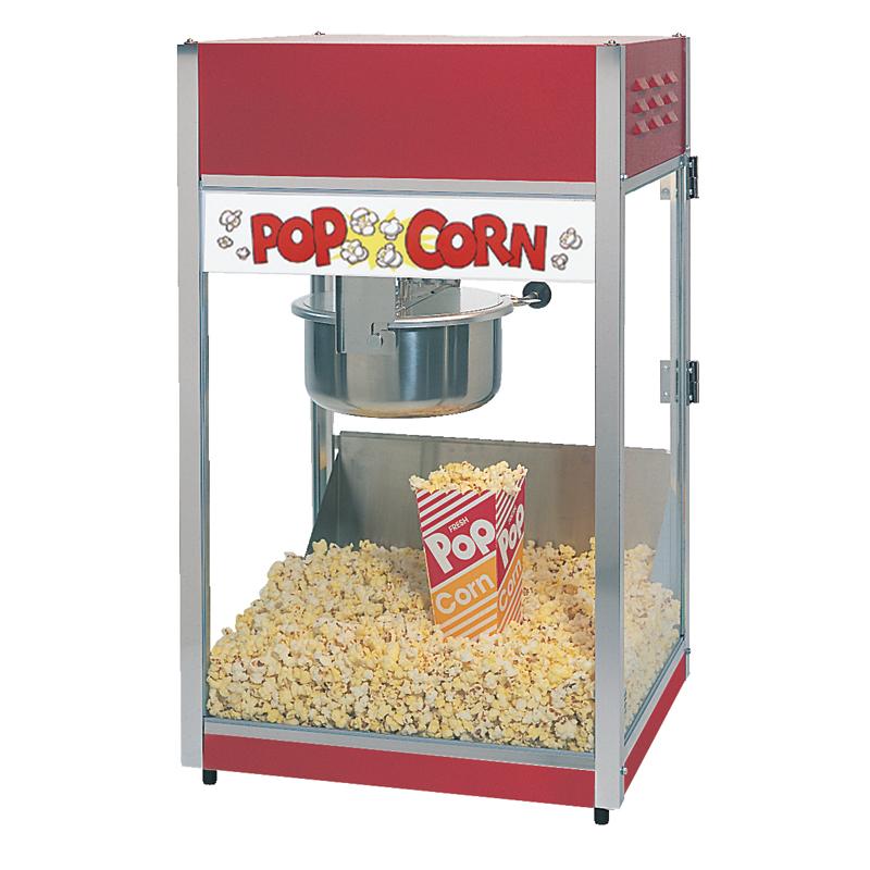 Gold Medal 2388 Econo 8 Popcorn 8oz Machine 120V