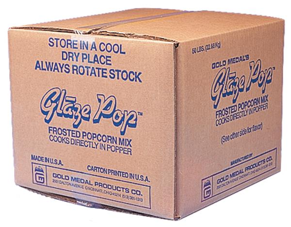 Gold Medal 2533 Glaze Pop Caramel 50lb Box