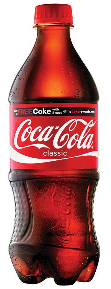 Coca Cola Classic Bottles, 20 oz Each, 24 Total