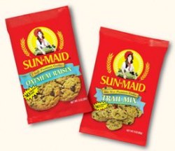 Sun-Maid Oatmeal Raisin Apple Cookies, 2 oz Each, 60 Total